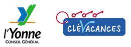 logo cg89 et 3 clés